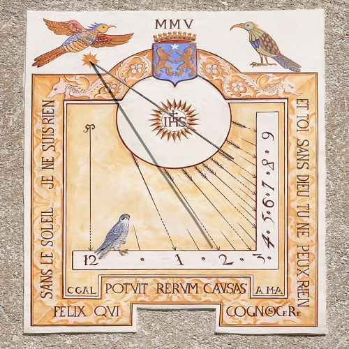 Cadrans Solaires Queyras 2005 Le Roux Abries